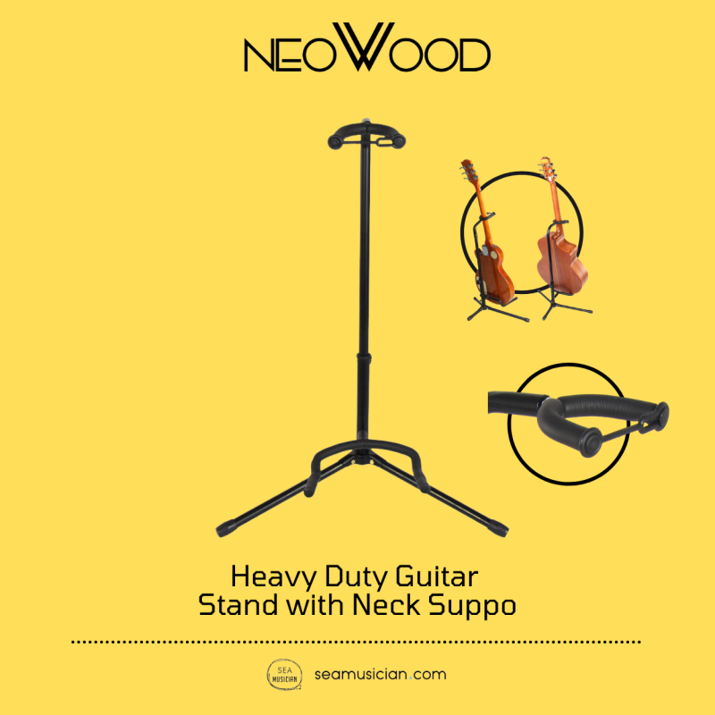 NEOWOOD J31 GUITAR STAND WITH NECK SUPPORT (SINGLE GUITAR STAND/ J-31/ J31) Malaysia