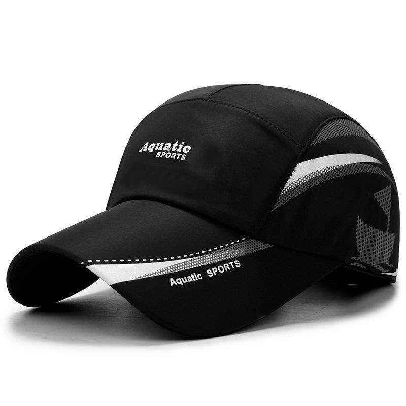 7cc217cd Quick Dry Waterproof Men Sport Duck Tongue Hat Sun Hat Outdoor Space Sun  Protection Protective Blazing