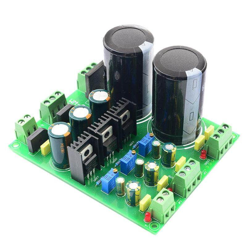 Rectifier Filter Power Board LM317 LM337 Multi-Channel Adjustable Rectifier Regulator Filter Power Module for Amplifiers