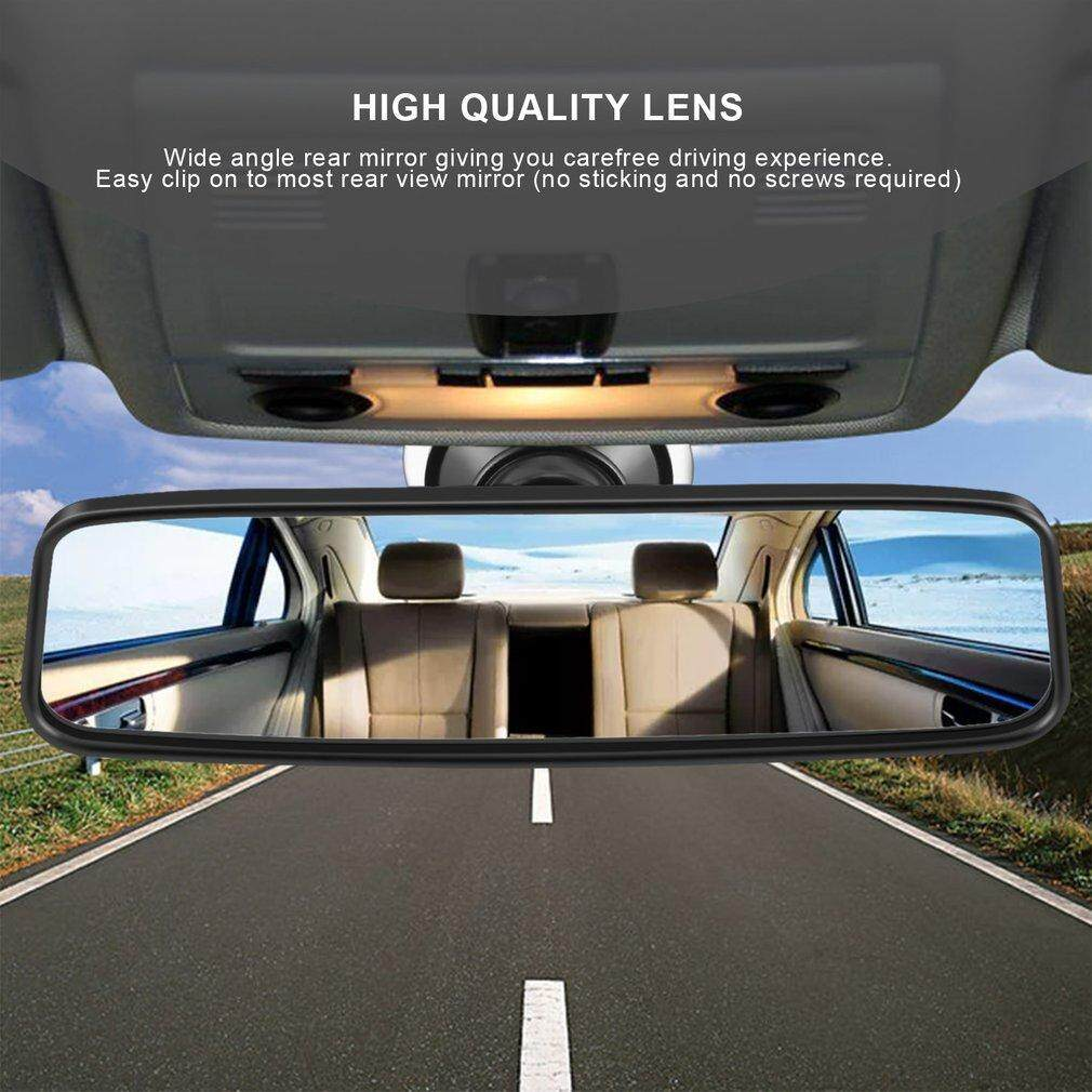 Osman Car Rear Mirror Wide-Angle Convex Curve Interior Rear View Mirror With Sucker 3pcs Free Shipping By Osmanthus.