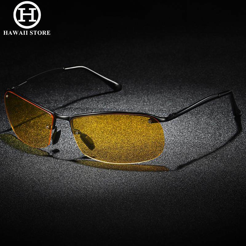 3c3c26d508c HAWAII Polarized Night Driving Glasses Anti-glare Yellow Lens Night Vision Driving  Glasses Oculos Male