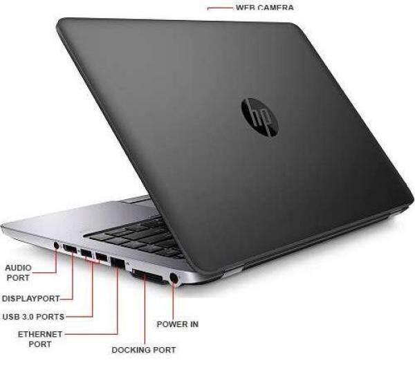 HP ELITEBOOK 840 G1 - UltraBook [CORE i5/ 4GB/ 256GB SSD/ WINDOW 10 PRO Original] (Refub 6 Months Warranty) Malaysia