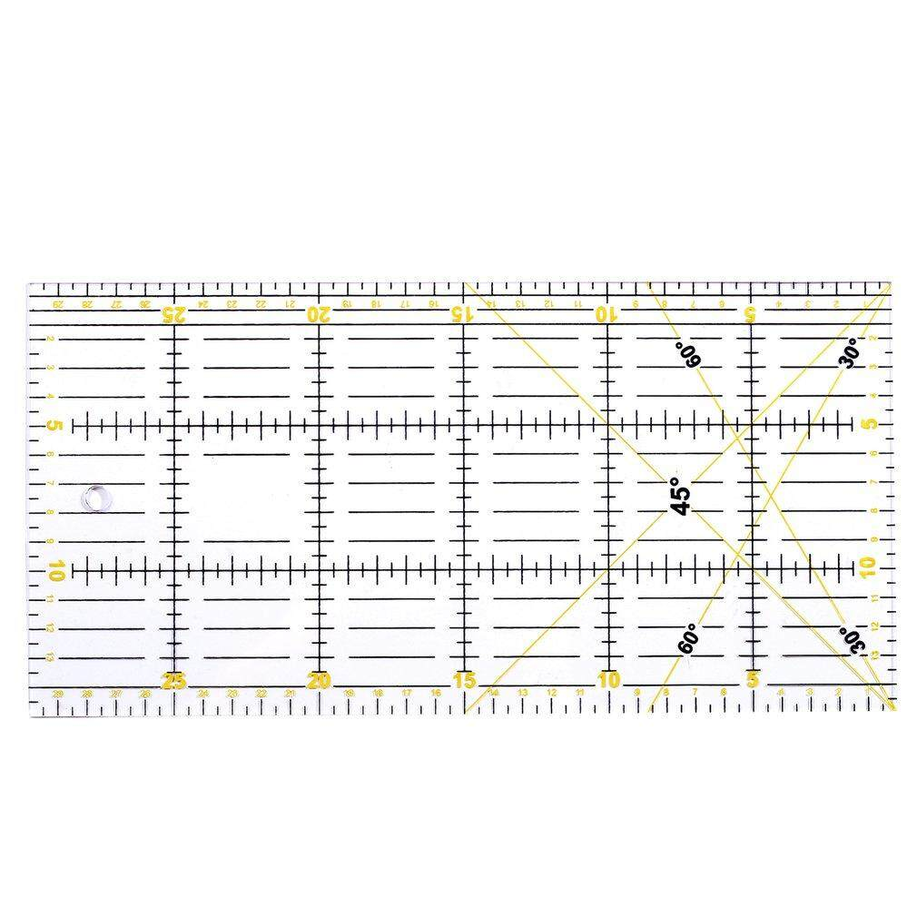 Allwin Patchwork ruler cutting special ruler 30cm*15cm thickness 3mm hand tool