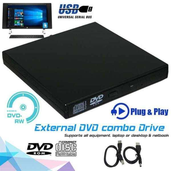 Bảng giá Đầu DVD USB2.0, Bộ Máy Nghe Nhạc Ngoài ROM Ổ Ghi CD Dành Cho PC Mac Laptop Phong Vũ