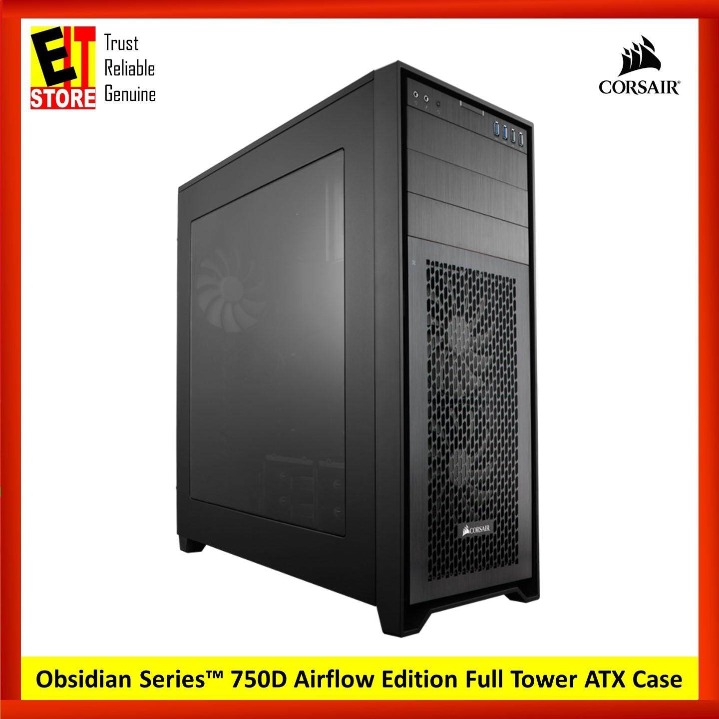 CORSAIR OBSIDIAN SERIES 750D AIRFLOW EDITION FULL TOWER ATX CASE (CC-9011078-WW) Malaysia