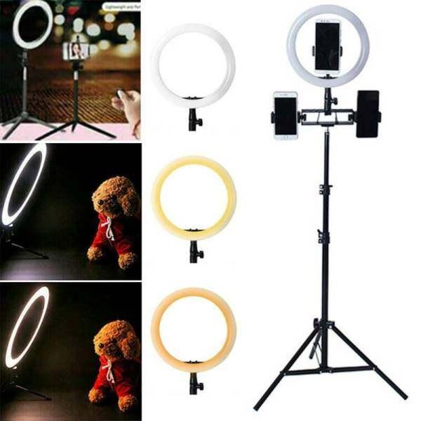 Bảng giá Đèn LED Tròn 10 Inch Giá Đỡ Điện Thoại Video Trang Điểm, Ảnh Tự Sướng Đứng, B Có Thể Điều Chỉnh