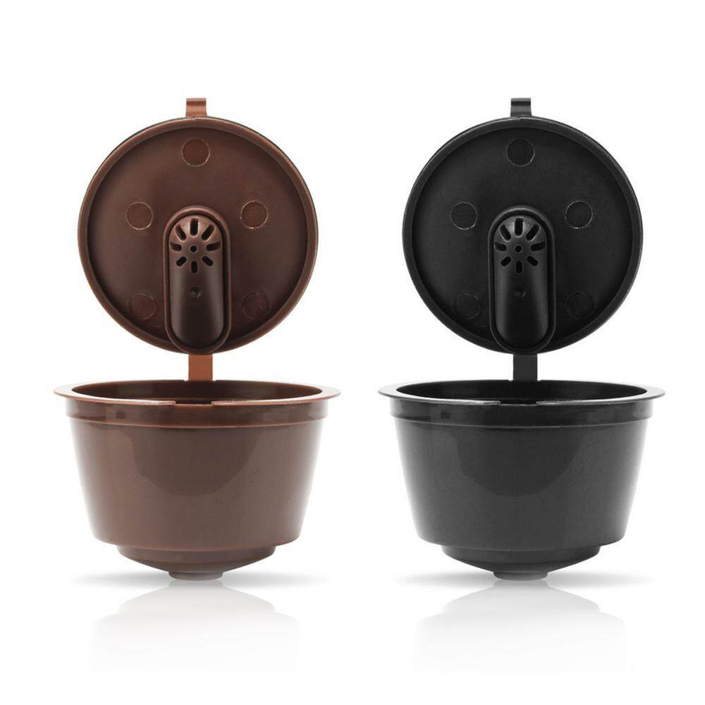 Buybowie 3pcs Refillable Coffee Capsules, Reusable Coffee Pods For Nescafe Dolce Gusto Reusable Filters, Capsules With Coffee Spoon And Brush By Buybowie.