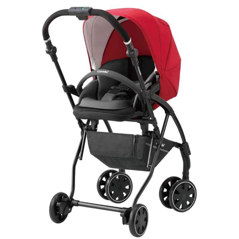 Combi stroller AttO (at) type-S SG standard conformity Red 1 month - Singapore