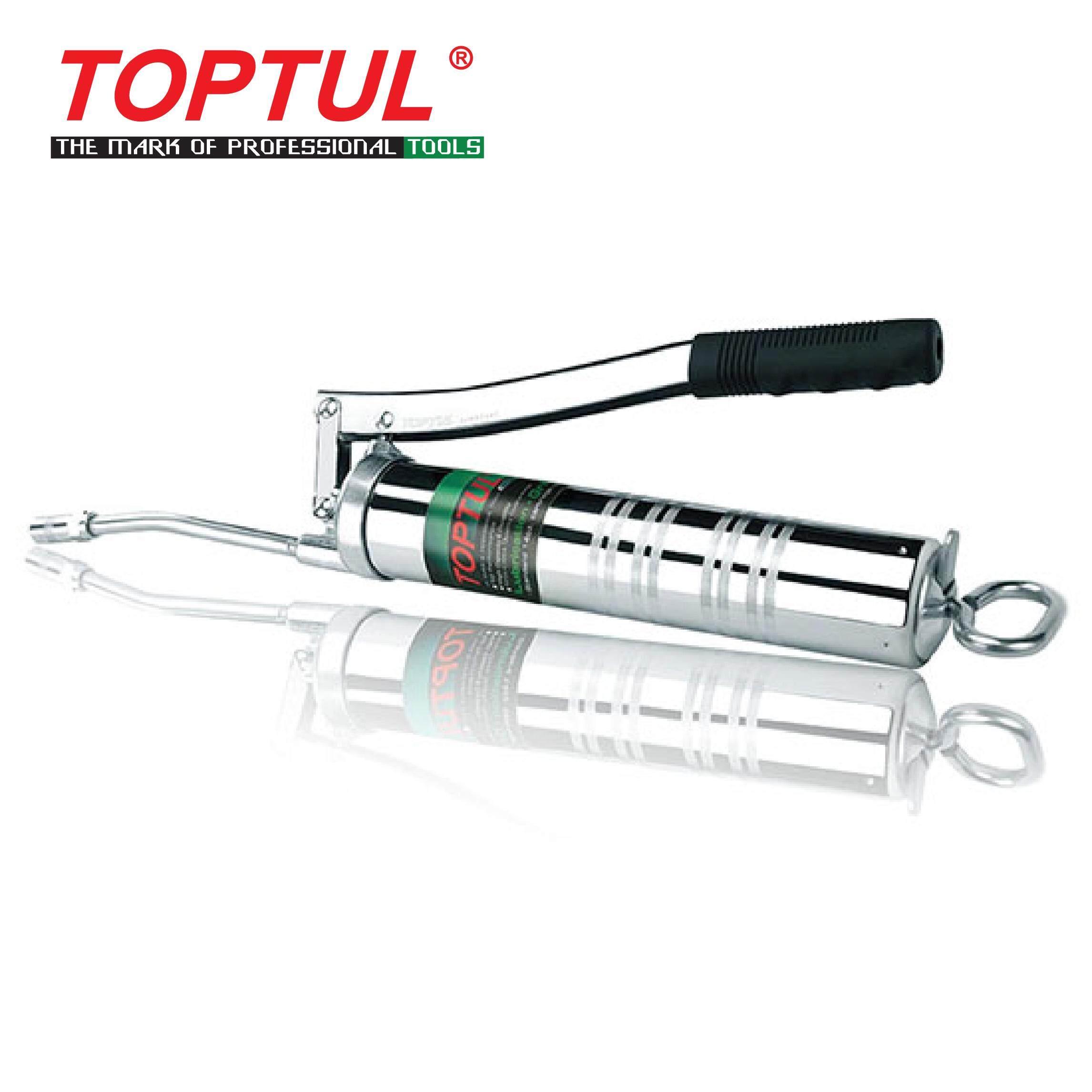 TOPTUL Lubrication - Grease Gun (Lever Type) - W/ 6 Rigid Tube (JJAA1440)
