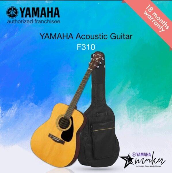Yamaha Acoustic Guitar F310-41 Full Size Acoustic Guitar with Guitar Bag (F310/f310/yamaha f310) Malaysia