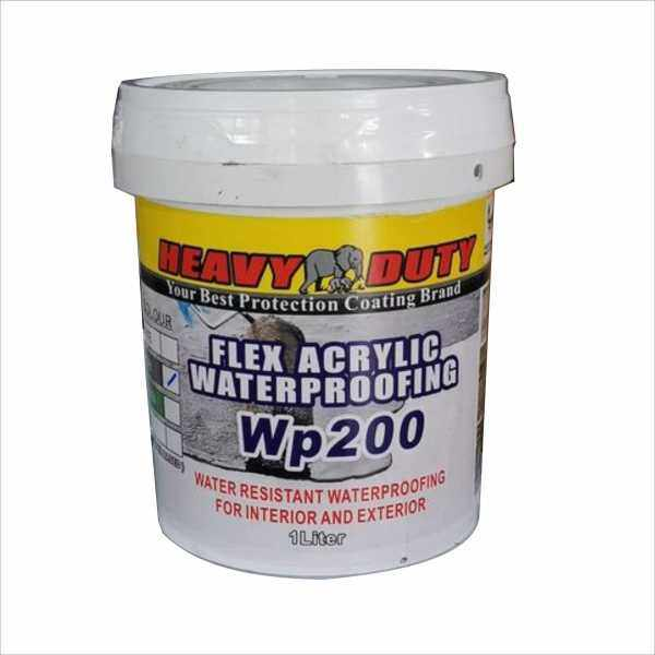 1KG // WP 200 ACRYLIC WATERPROOFING HEAVY DUTY WATER RESISTANT FOR INTERIOR AND EXTERIOR WALL AND FLOOR