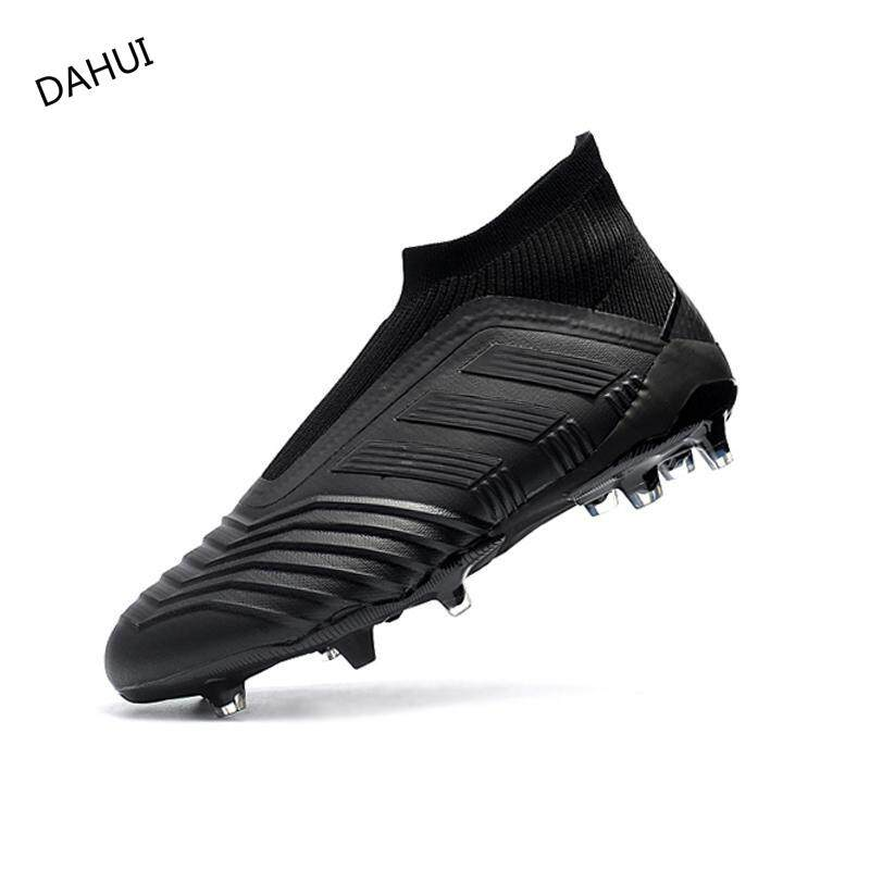 fc38adf62 High Ankle Football Boots Superfly Original Falcons Knitted FG Nail Football  Shoes Adulto Men's Soccer Shoes