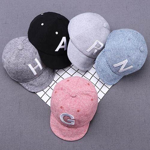 [genius Baby House] Baby Boy Girl Cotton Hat Five Different Color Logo Embroidery Letters Gbc Web H1119 By Genius Baby House.