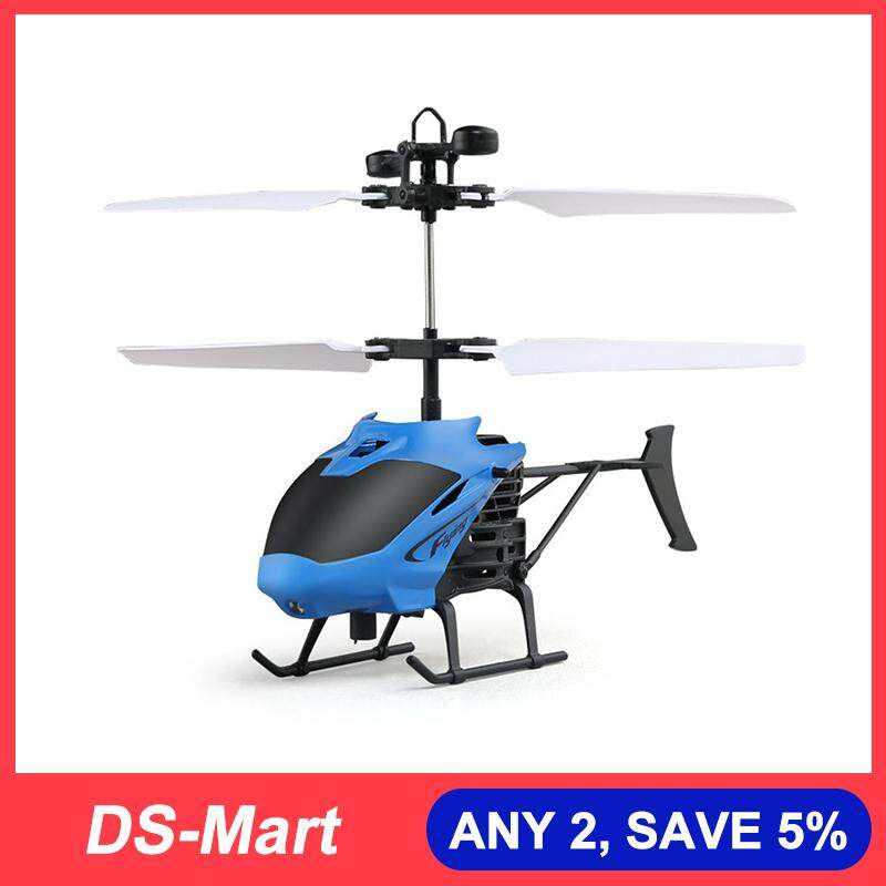 DS-Mart USB RC Helicopter With Remote Control for Kids Gyro Helicopter Mini  Drones Toy 3 Channel Helicopter Led Helicopter Toys