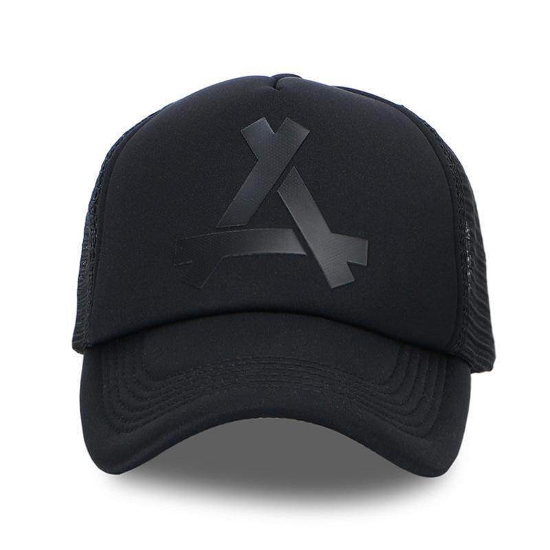 2383c236 Triangle Design Men Women Hats Baseball Mesh Cap Snapback Dad Hat Polo Hats