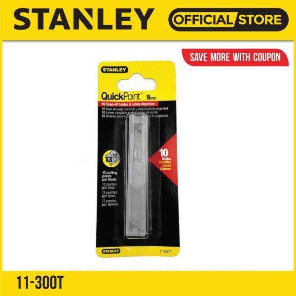 Stanley 11-300T Quick-Point Blades 9mm (10-pieces)