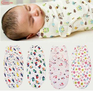 Trẻ sơ sinh chăn bông Vỏ bánh Túi ngủ 100% chất liệu cotton Quấn em bé Sơ sinh cái mền mô hình hoạt hình Thoải mái Bé yêu thumbnail