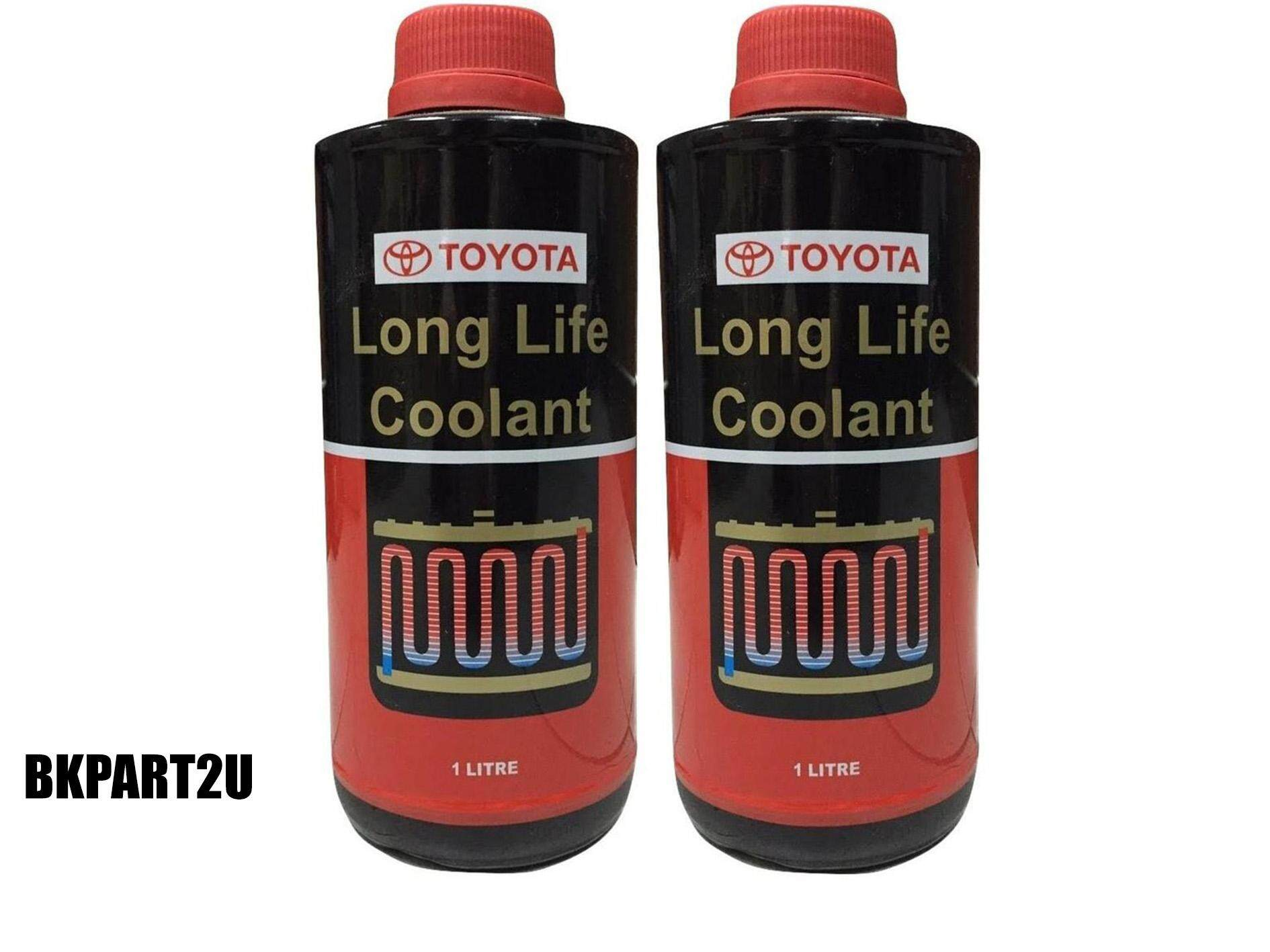 Toyota long life coolant red
