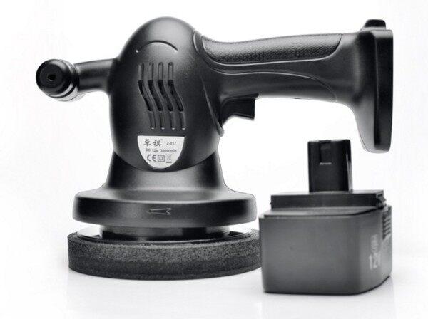 800W 3300RPM 12V High Powered Portable Cordless Polisher Waxer Auto Car Battery