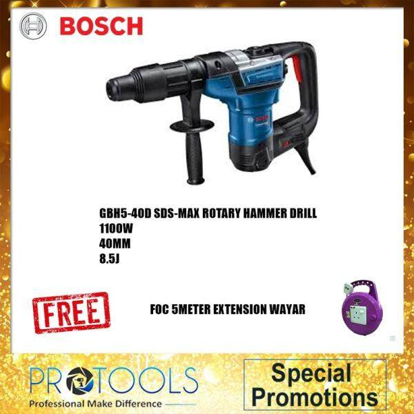 BOSCH GBH 5-40 D ROTARY HAMMER WITH SDS-MAX