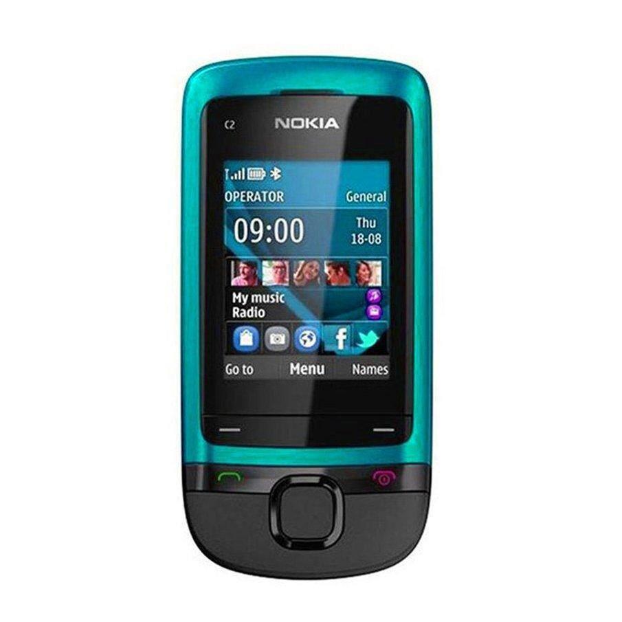 Harga Terbaik Asli Nokia C2-05 0.3MP Kamera Radio Bluetooth GSM 900/1800