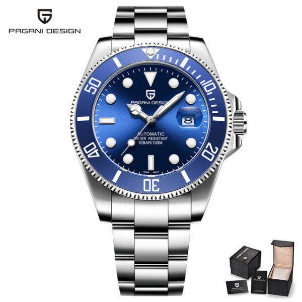 PAGANI Design Brand Luxury Men Watches Automatic Black Watch Men Stainless Steel Waterproof Business Sport Mechanical Wristwatch Malaysia