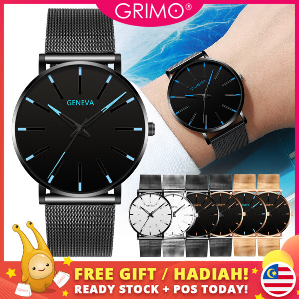 GRIMO Malaysia - Da-nny Men Watch Jam Tangan Analog Men Watches Lelaki Jam Tangan Guys Dinner Lawa Casual Gift NEW December ac11434 Malaysia