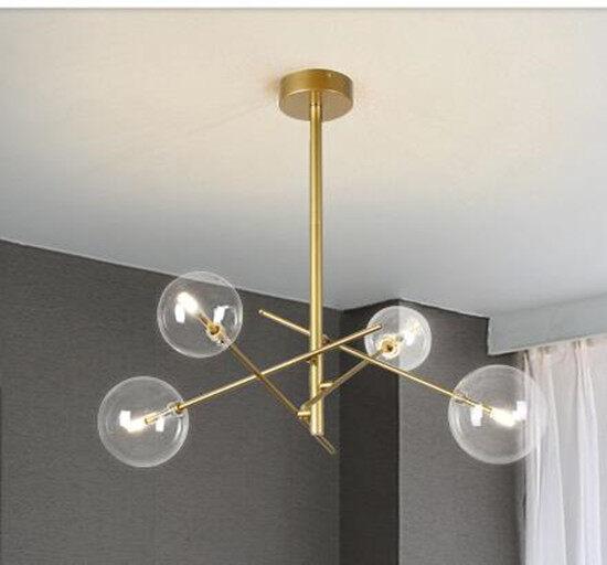 Modern Kreatif Sederhana Gaya Kaca Lampu Lollipop Kreatif Lampu Gantung Belajar Ruang Tamu Restoran Cafe Dekorasi Lampu