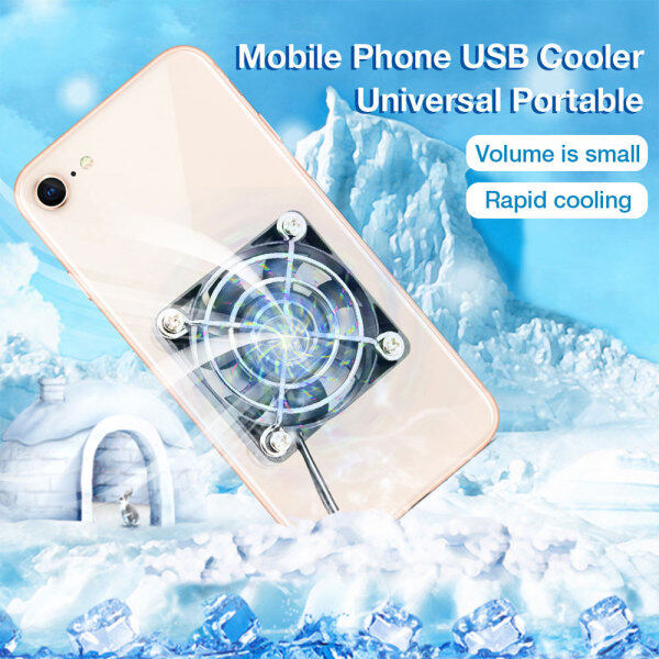 USB computer Cooling Fan router Cooler Fan Gamepad Game Gaming Shooter Mute Radiator Controller Heat Sink Universal Portable Mobile Phone Cooler