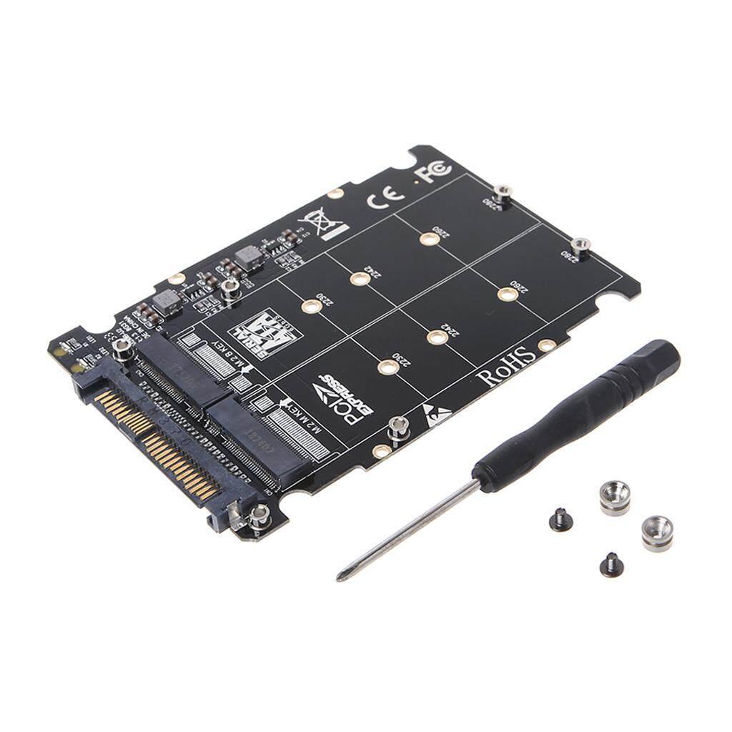 Giá M.2 SSD Sang U.2 Adapter 2 Trong 1 M.2 NVMe Phím B/M NGFF SSD Sang PCI-E U.2 SFF-8639 bộ Chuyển Đổi PCIE M2 Chuyển Đổi Máy Tính