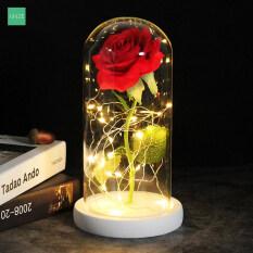 L-Ngọt Nhân Tạo Hoa Giả Hoa Hộp Hoa Hồng, Quà Tặng Cho Mẹ Valentine Quà Giáng Sinh Quà Tặng Đám Cưới Ngày Của Mẹ
