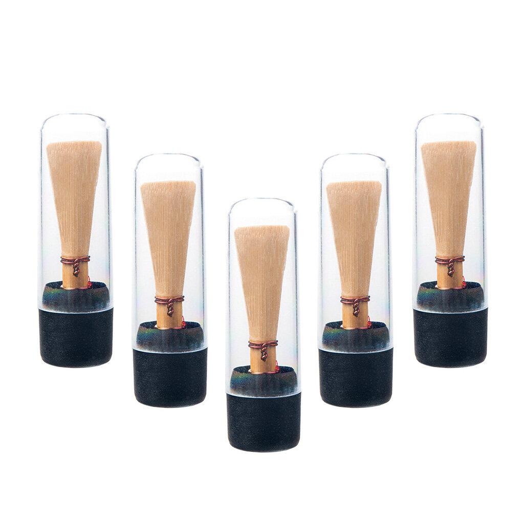 Baoblaze 5 Cái Trung Bình Cường Lực Bassoon Reed Trong Suốt Thay Thế Nhạc Cụ Phần