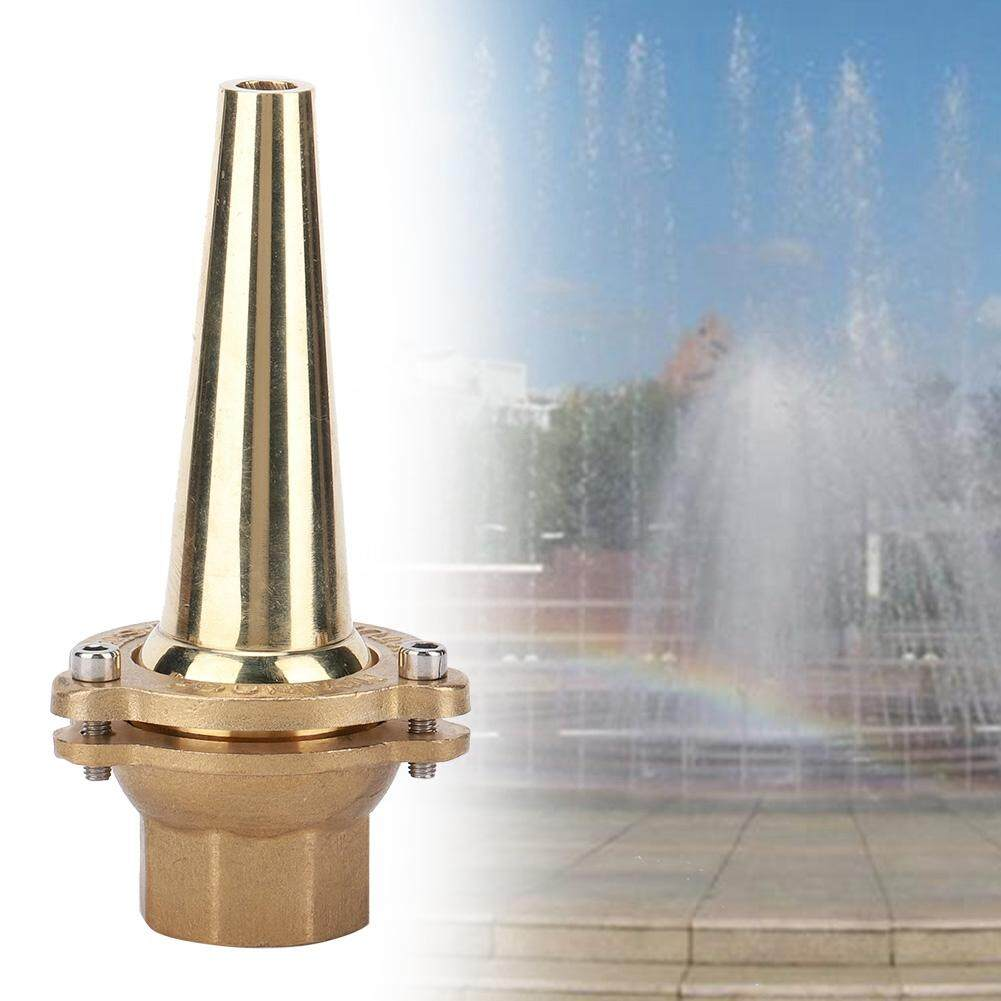 Sunflower G1in DN25 Female Thread Brass Landscaping Fountain Nozzle Spray Head Straight Shape