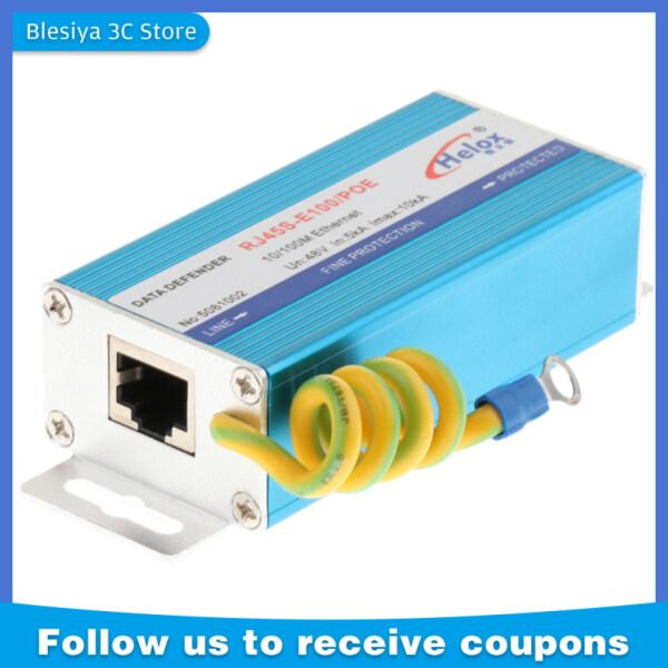 Bảng giá Blesiya Thiết Bị Chống Sét Lan Truyền Ethernet, RJ-45 POE + Bộ Giảm Áp 100Mbps Phong Vũ