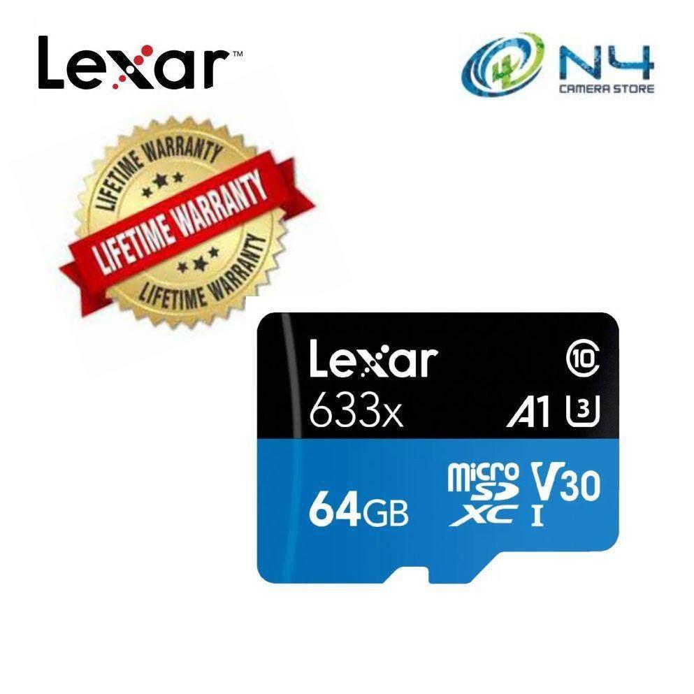 Giảm Giá Ưu Đãi Khi Mua Thẻ Nhớ Lexar 64 Gb 633X A1 95 Mb/Giây U3 Microsdxc Uhs-I Thẻ Nhớ