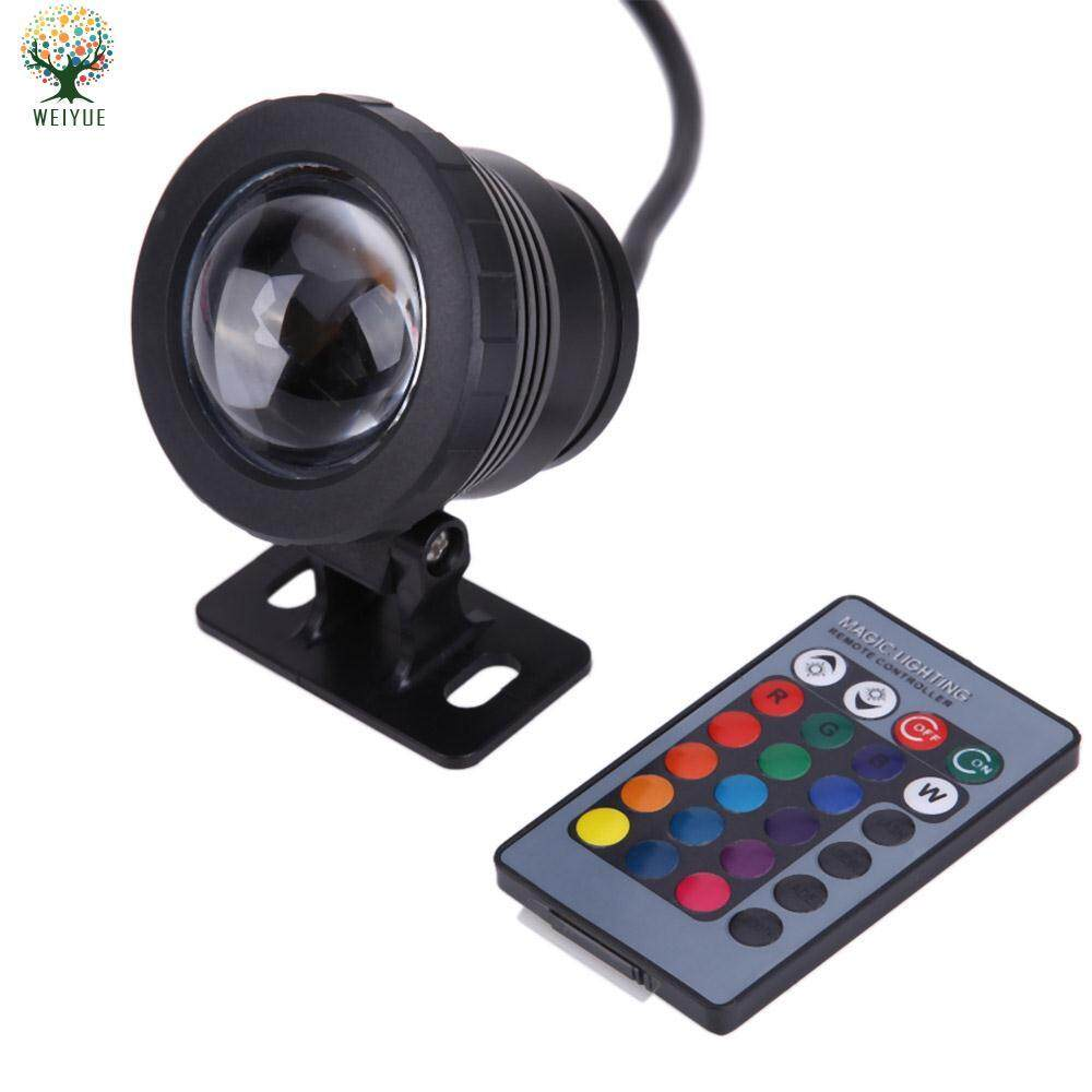 Led Lamps Dc12v Outdoor Underwater Lighting 10w Rgb Underwater Led Spot Light Flood Light Color Changing Lamp Ip68 Waterproof For Pond Bringing More Convenience To The People In Their Daily Life