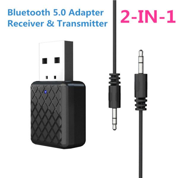Bảng giá Bluetooth 5.0 Thiết Bị Thu Nhận Âm Thanh Transmitter Mini 3.5 Mm Jack AUX Stereo Bộ Phát Bluetooth Cho PC USB Xe Hơi Bộ Chuyển Đổi Không Dây Phong Vũ