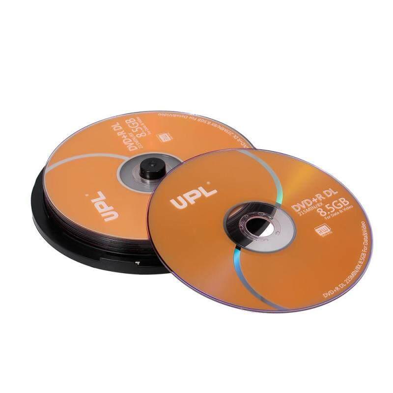 10PCS 215MIN 8X DVD+R DL 8.5GB Blank Disc DVD Disk For Data & Video