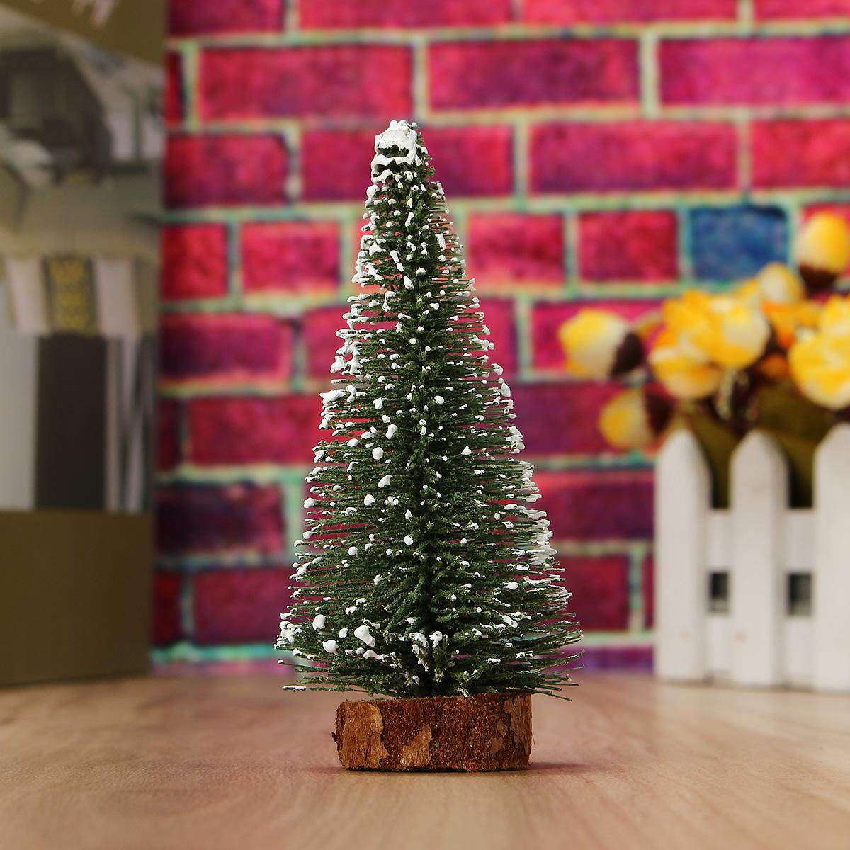 【Ready Stock】Mini Small Christmas Tree Festival Home Party Ornaments Xmas House Decor