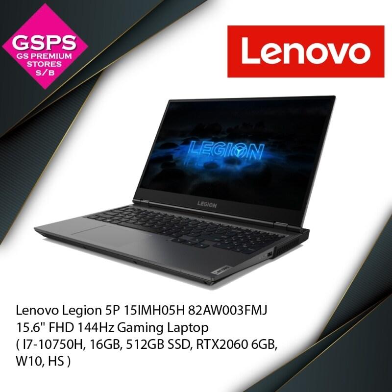 Lenovo Legion 5P 15IMH05H 82AW003FMJ 15.6 FHD 144Hz Gaming Laptop ( I7-10750H, 16GB, 512GB SSD, RTX2060 6GB, W10, HS ) Malaysia