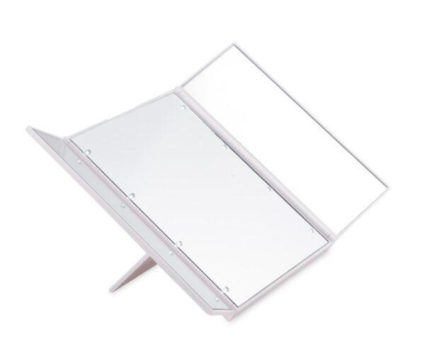 Đèn LED Gương Trang Điểm, Kính Lúp 10 Lần, Kính Lúp Trang Điểm Pin Bồn Tắm Mini Trang Điểm Cốc Hút Thông Minh Phòng Tắm Mỹ Phẩm
