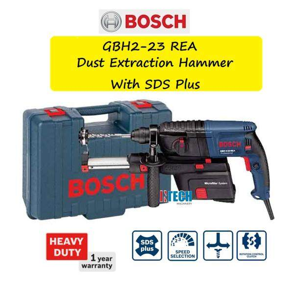 BOSCH GBH2-23REA DUST EXTRACTION HAMMER WITH SDS PLUS