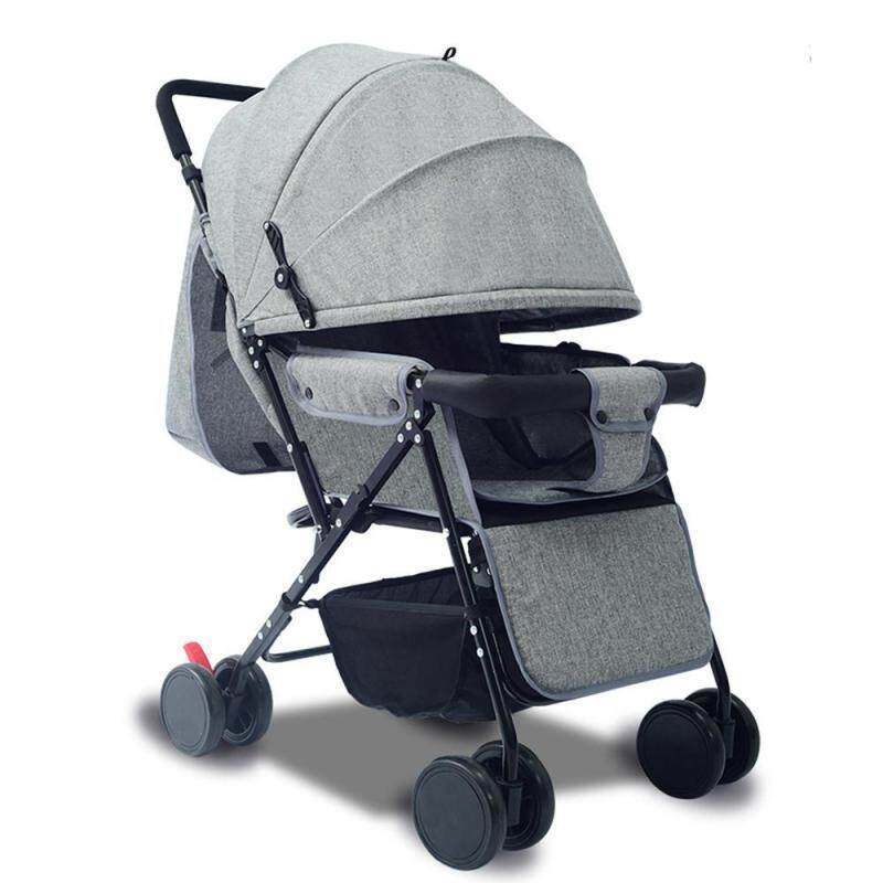 OutFlety Baby Stroller Foldable 2-Way Lightweight Baby Seat with Mosquito Net & Reversible Handlebar Singapore