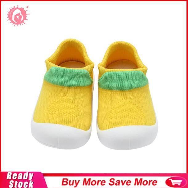 Giày Tập Đi Em Bé Mùa Thu Đáng Yêu Giày Dệt Kim Đế Mềm Thường Ngày, First Walkers giá rẻ