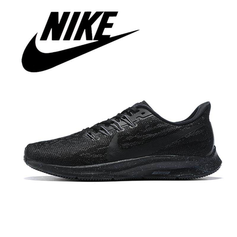 NIKE_AIR ZOOM_PEGASUS 36 FLR Men's Sneakers Lightweight Running Shoes Black Mesh 40-45#3
