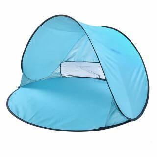 Lều 150X150X90cm Lều Che Nắng Đi Biển Cắm Trại Chống Tia Cực Tím Tự Động Miễn Phí thumbnail