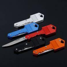 Tiện Ích Hình Thép Không Gỉ Keychain Key Pocket Xách Tay