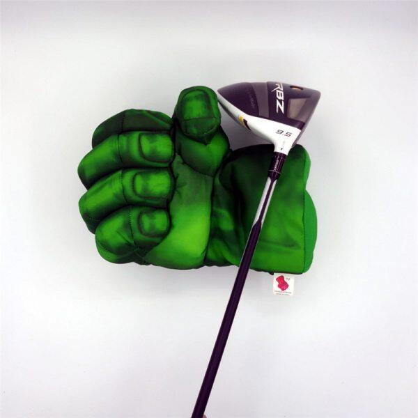 Green Hand The Fist Golf Driver Headcover 460cc Đấm Bốc Gỗ Golf Bìa Golf Club Phụ Kiện Mới Lạ Món Quà Tuyệt Vời