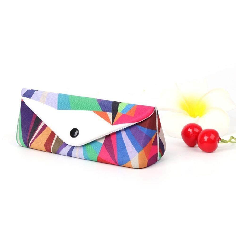 แฟชั่นกล่องใส่แว่นกันแดดกรณีที่มีสีสันแว่นตากันแดดพับได้เคสใส่ของ Protector Unisex แว่นตากล่องคอนเทนเนอร์ By Huiheyu.