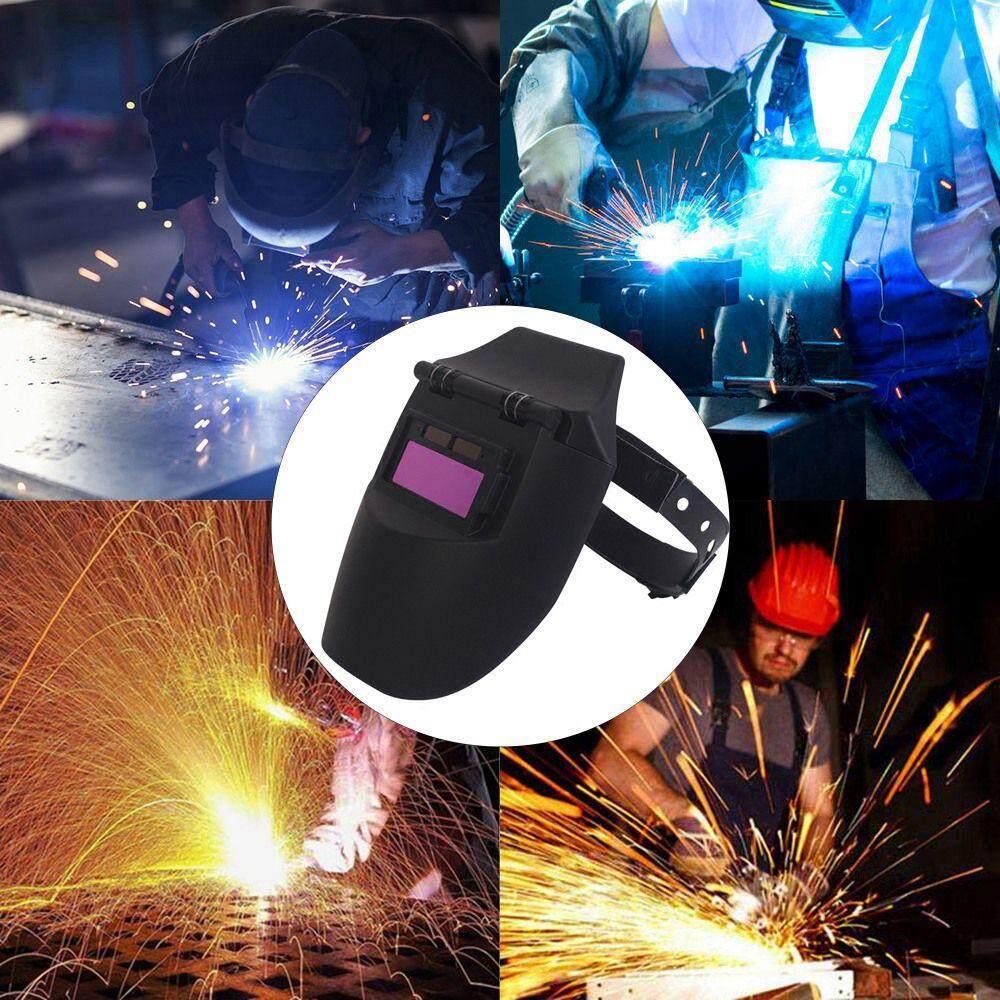 BuyInBulk Industrial Grade Welding Helmet With Large View,Solar Powered Auto Darkening Adjustable Shade Range Welder Cap Mask